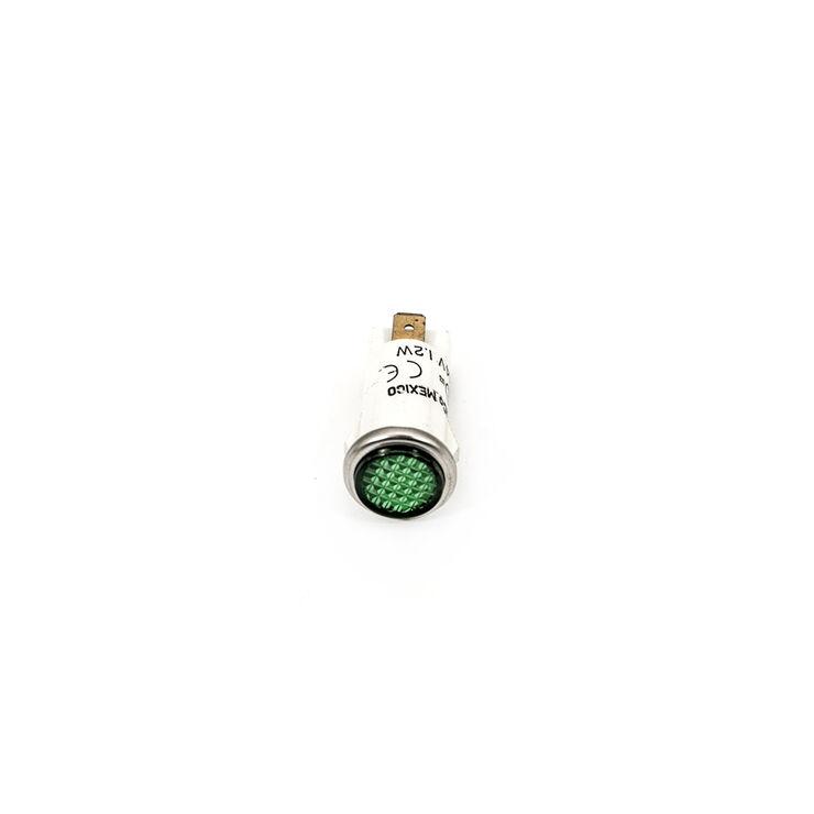 Green Incandescent Lamp