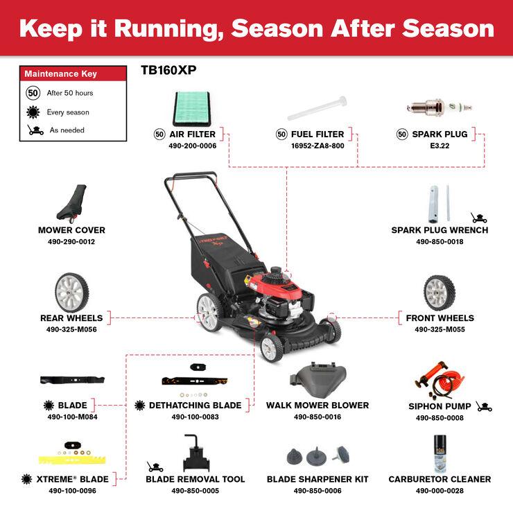 [QNCB_7524]  TB160 XP Push Lawn Mower - 11A-B2RQ766 | Troy-Bilt US | Troy Bilt Fuel Filter |  | Troy-Bilt