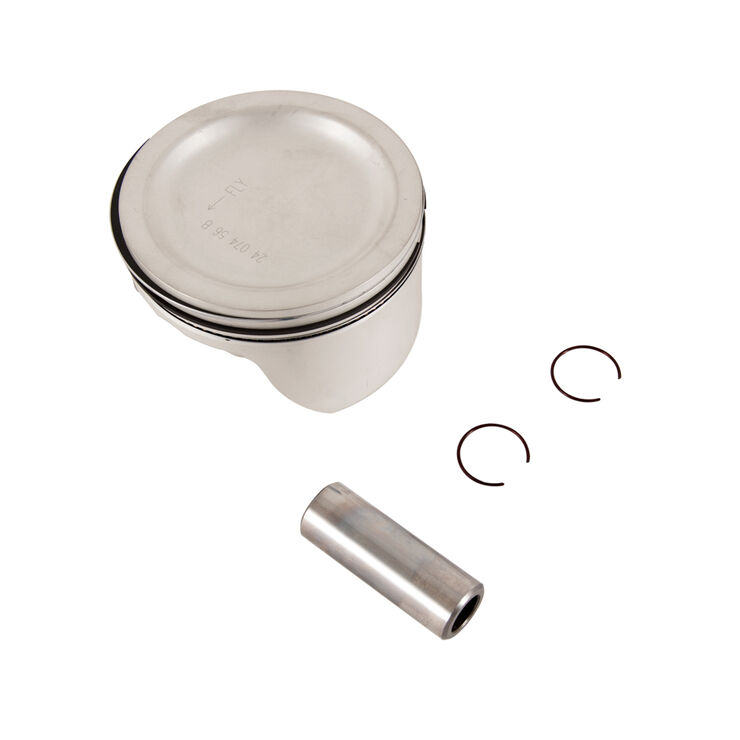 Piston W/Rings Kit .25