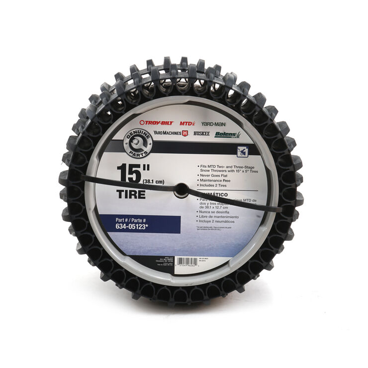 AIRLESS SNOW THROWER TIRE SET