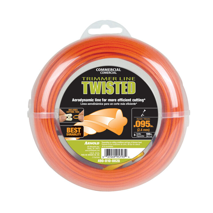 ".095"" Twisted Trimmer Line"