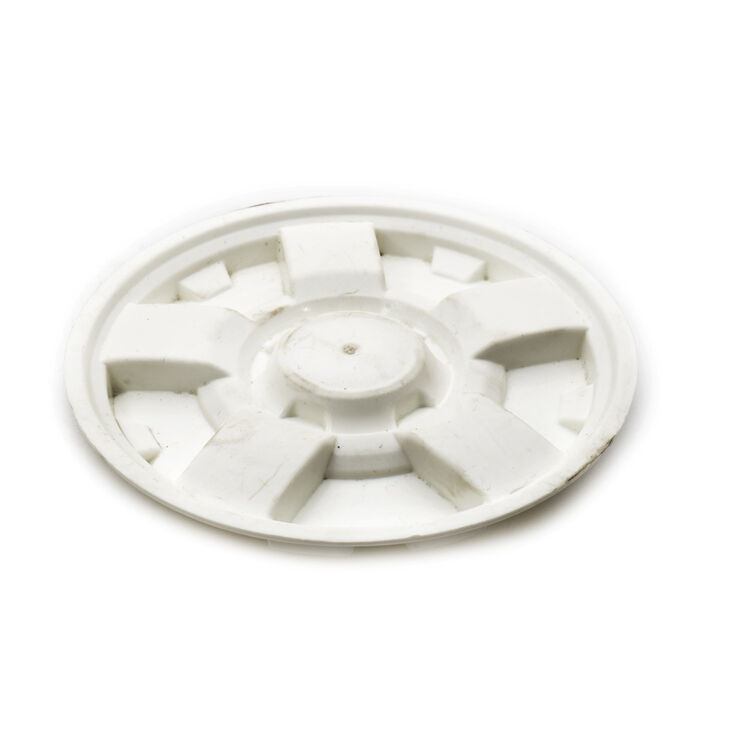 "Hubcap-Craftsman White W/7"" Tires"
