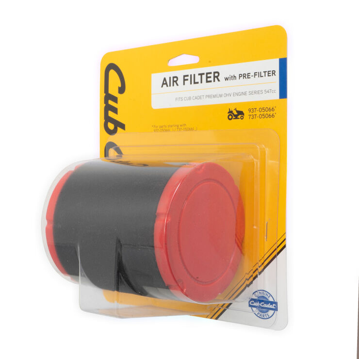 Air Filter with Pre-Cleaner