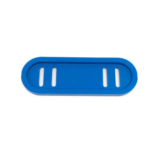 Snow Thrower Blue Polymer Slide Shoe