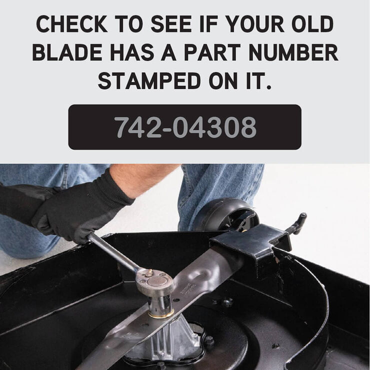 LawnRAZOR Blade for Cub Cadet 942-04053C 742-04053 MTD RZT 50 Troy Mustang 9PK