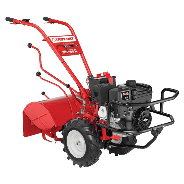 Big Red Garden Tiller 21ae682w766 Troy Bilt Us