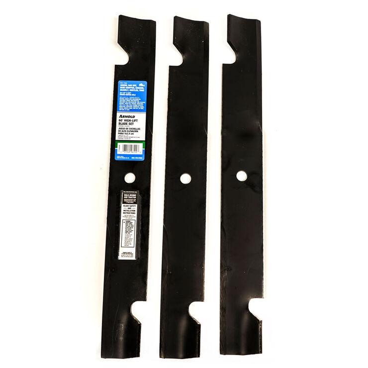 High-Lift Blade Set for 60-inch Cutting Decks