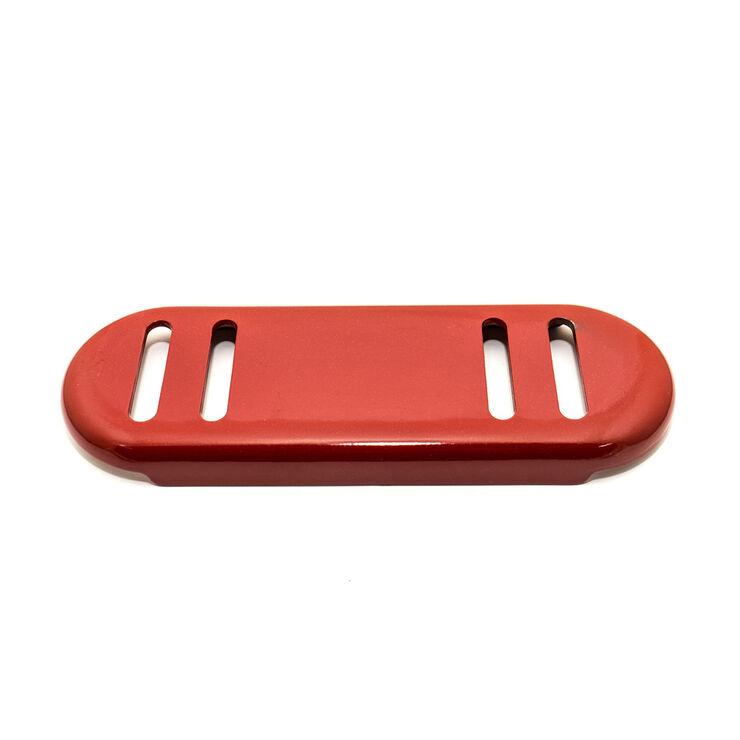 Slide Shoe (Red Metallic)