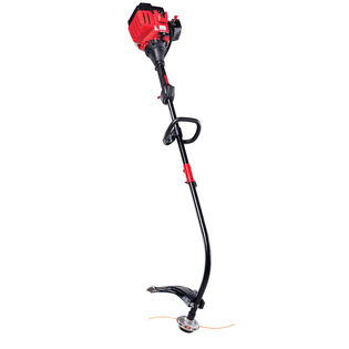 TB25CE 25cc 2-Cycle Curved Shaft Gas Trimmer with Edger Attachment