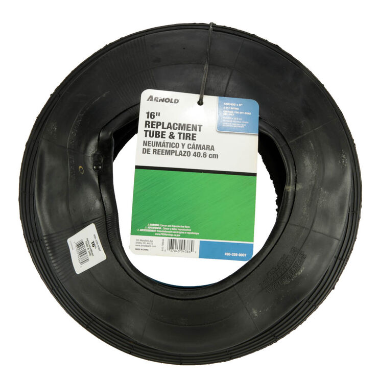 "Wheelbarrow Tire And Tube 480 / 400 x 8"""