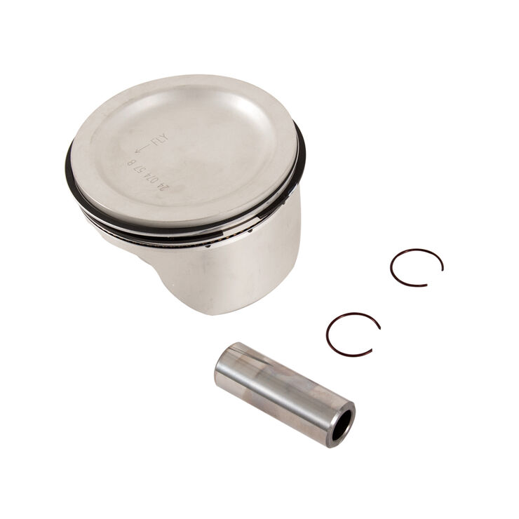 Piston W/Rings Kit .50