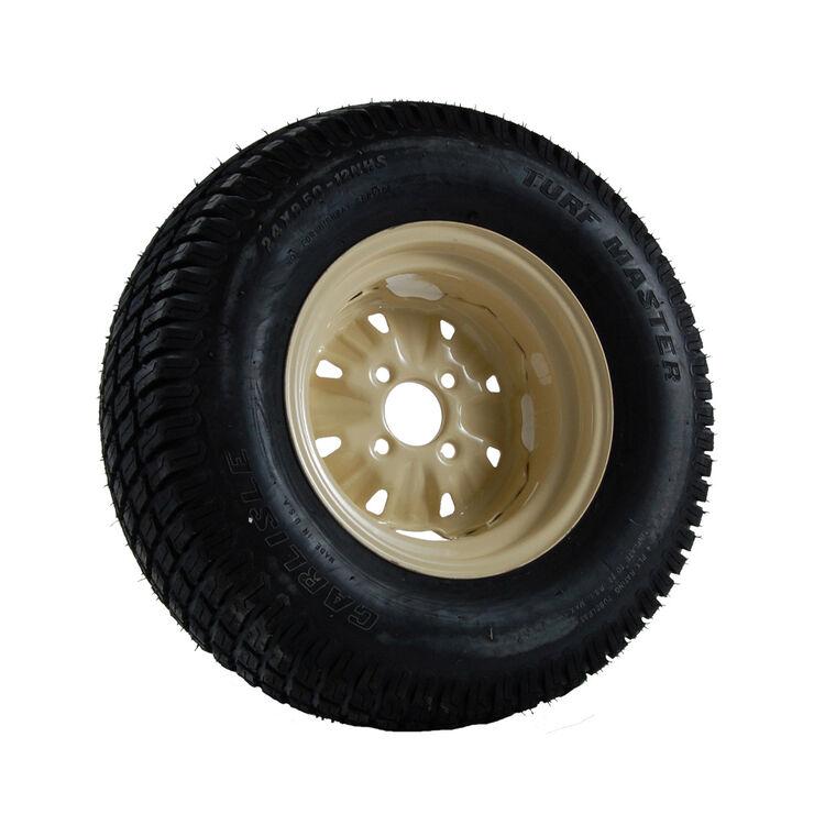 Wheel Assembly (24 x 9.5-12) (Beige)
