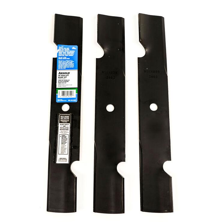 High-Lift Blade Set for 48-inch Cutting Decks