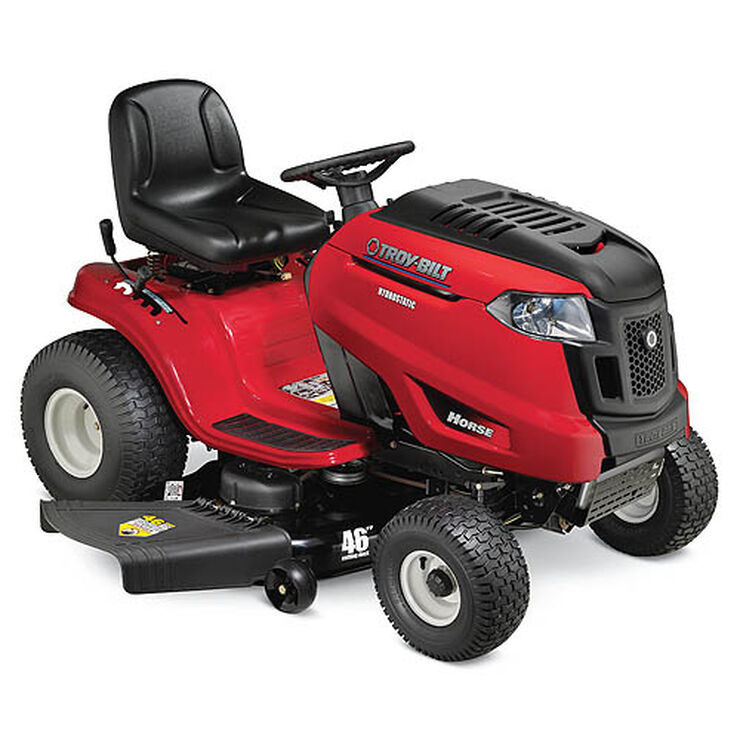Horse  Troy-Bilt Riding Lawn Mower