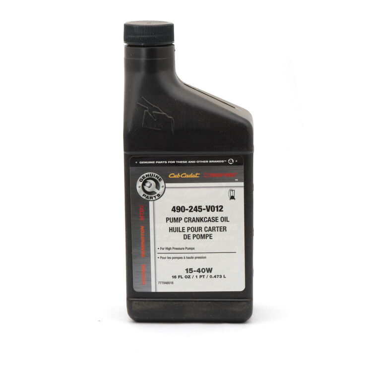 PUMP OIL 15W-40  16 OZ