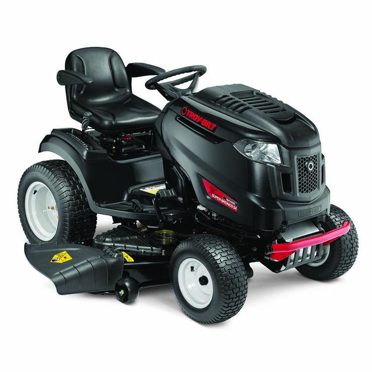 Super Bronco 54 Troy-Bilt Riding Lawn Mower