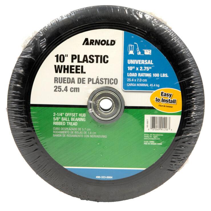 """Wheel - 10"""" x 2.75"""" Ribbed Tread"""