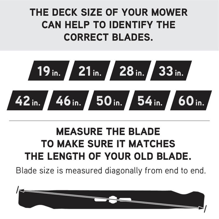 3-in-1 Blade for 46-inch Cutting Decks