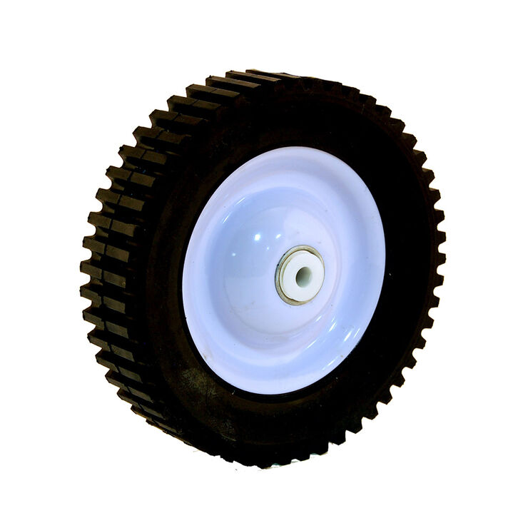 "60 lbs. Load Rating. 1-3/8"" Hub Length. 1/2"" Ball Bearing. Offset Hub. Geared Tread."
