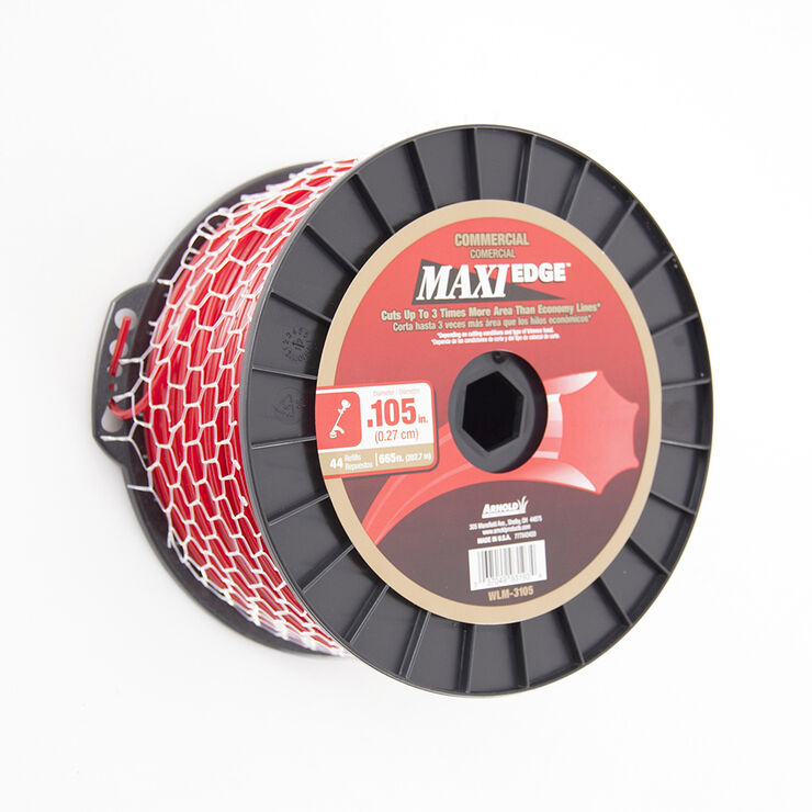 """.105"""" Maxi Edge Commercial Trimmer Line Spool"""