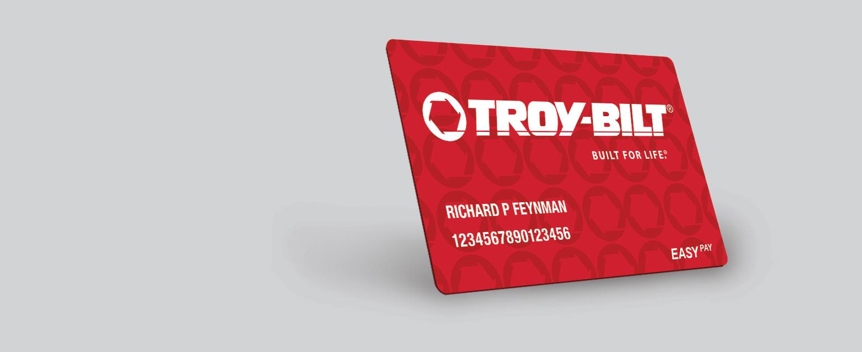 troy-bilt credit card