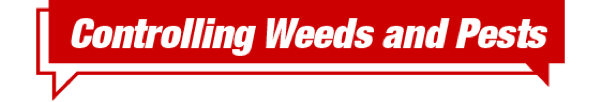 Controlling Weeds and Pests