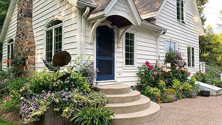 front door landscaping