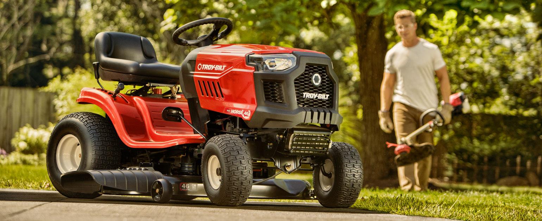 Riding Lawn Mowers | Troy-Bilt US