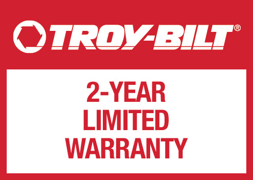 Troy-Bilt 2-Year Limited Warranty